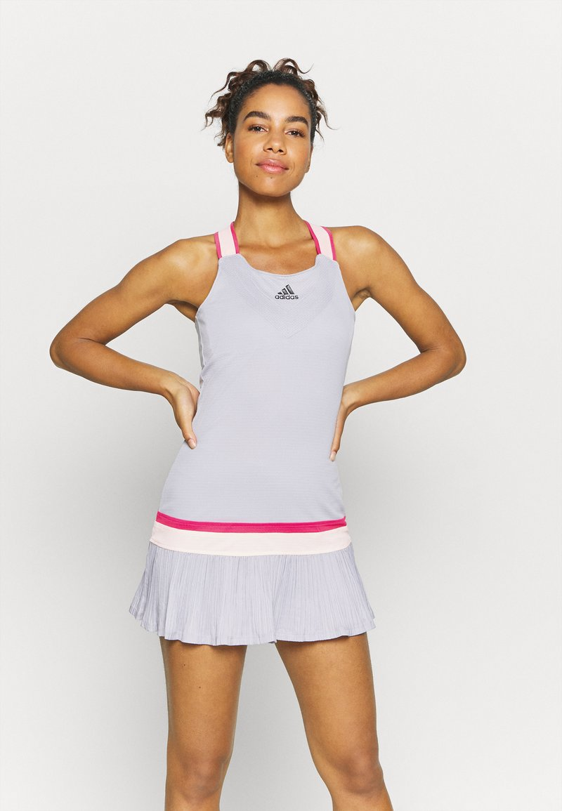 adidas Performance - PRO HEAT SPORTS SLIM DRESS SET - Sports dress - glow grey