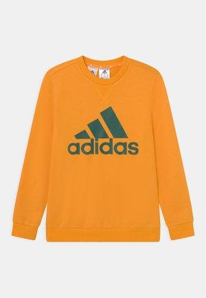 Sweater - semi solar gold/collegiate green