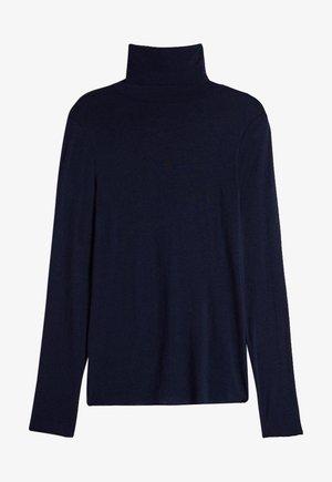 HOCHGESCHLOSSENES ULTRALIGHT - Long sleeved top - blu intenso