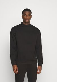 Nominal - FUNNEL NECK CREW - Sweater - black - 0