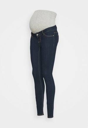 PCMDELLA - Jeans Skinny Fit - dark blue denim