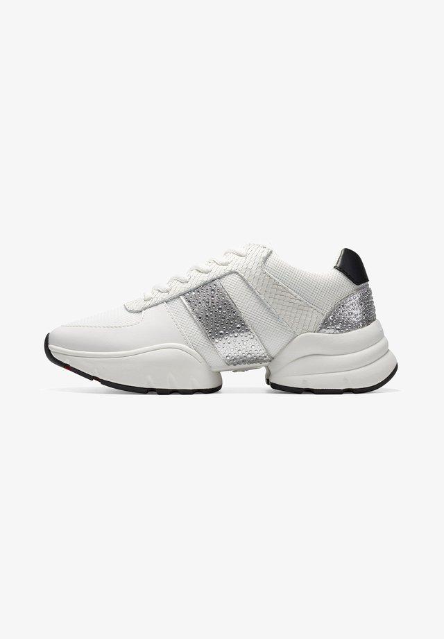 SPLIT RUNNER-SPARKLE - Sneakers laag - white