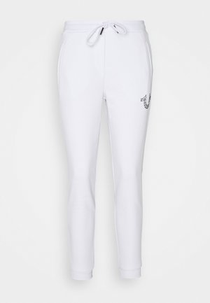 HORSESHOE - Tracksuit bottoms - white