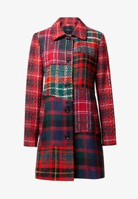 Desigual - ABRIG CARACHI - Short coat - red