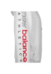 New Balance - ESSENTIALS ICON KAPUZENSWEATJACKE HERREN - Zip-up hoodie - other white - 2