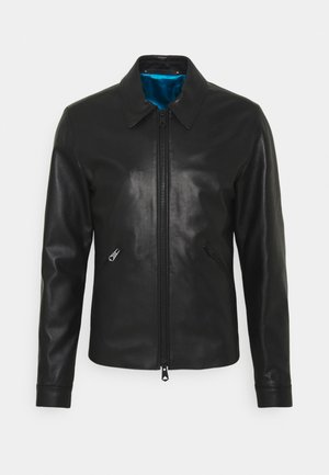 GENTS LEATHER JACKET - Leren jas - black