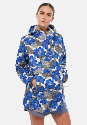 W PRINT FANORAK - Windbreaker - blue