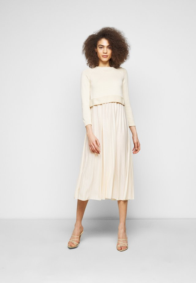 AIDONE  - Korte jurk - creme