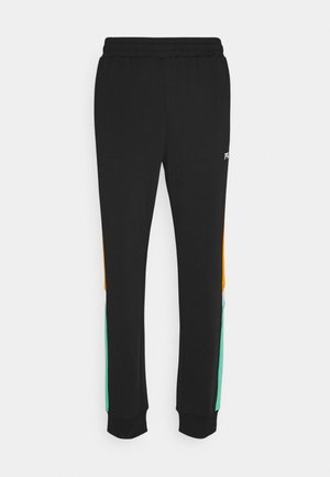 AJAX TRACK PANTS - Tracksuit bottoms - black
