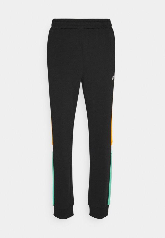 AJAX TRACK PANTS - Pantalones deportivos - black
