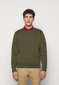 Polo Ralph Lauren - DOUBLE TECH - Long sleeved top - company olive - 0