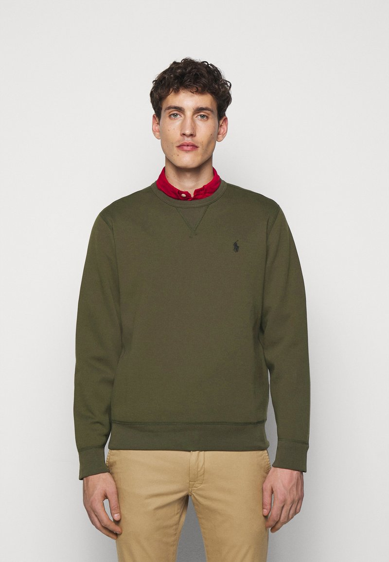 Polo Ralph Lauren - DOUBLE TECH - Long sleeved top - company olive