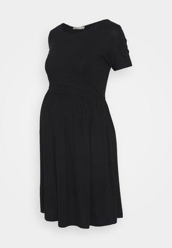 NURSING Jersey dress - Jerseykjole - black