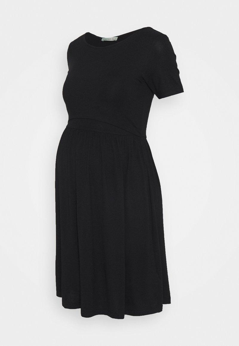 Anna Field MAMA - NURSING Jersey dress - Jerseykjole - black