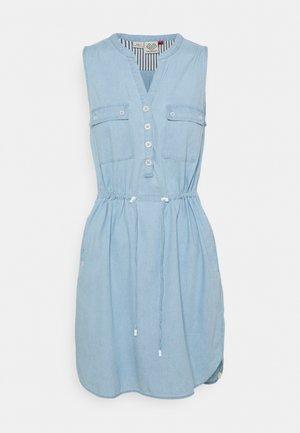 ROISIN - Denimové šaty - light blue