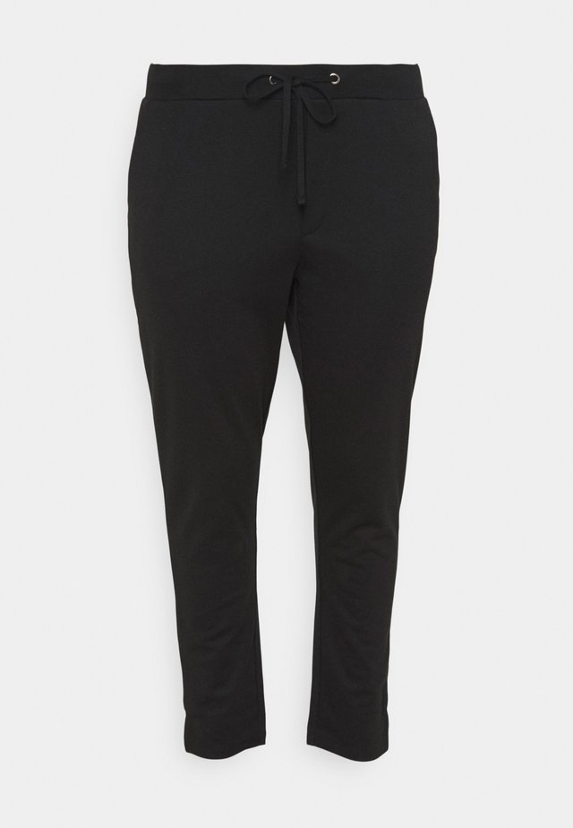 KCOLIVIA PANTS - Verryttelyhousut - black deep