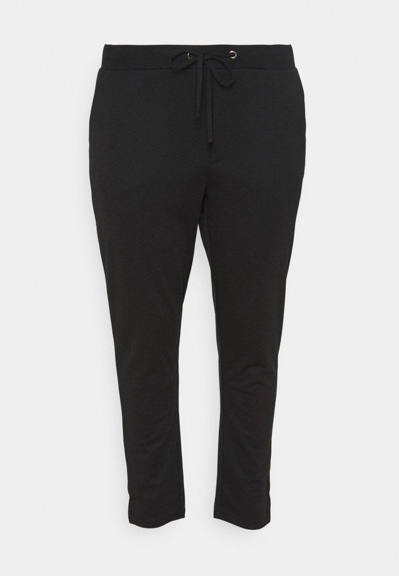 Kaffe Curve - KCOLIVIA PANTS - Tracksuit bottoms - black deep