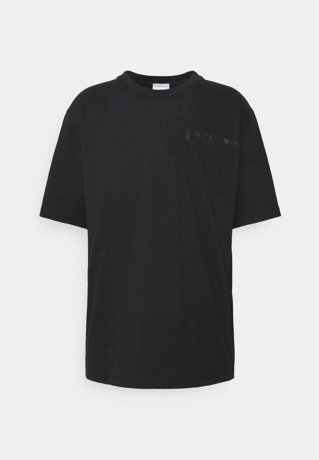 UNISEX - Basic T-shirt - black/black