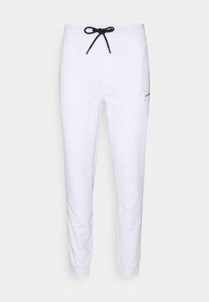 REFLECTIVE LOGO UNISEX - Verryttelyhousut - bright white