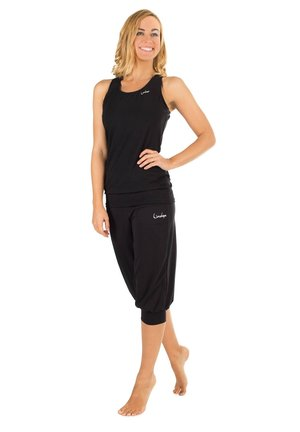 3/4 sports trousers - schwarz
