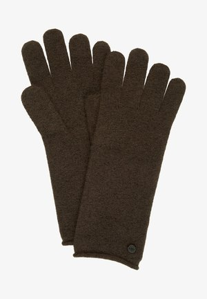 Gloves - dark chocolate