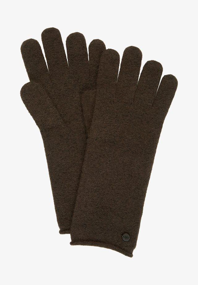 Gloves - dark chocolate