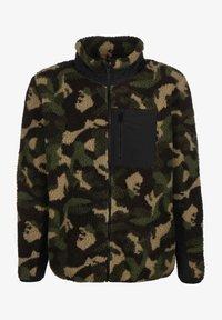 Urban Classics - Fleece jacket - wood camo - 0