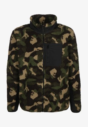 Fleece jacket - wood camo