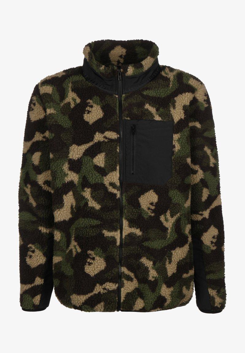 Urban Classics - Fleece jacket - wood camo