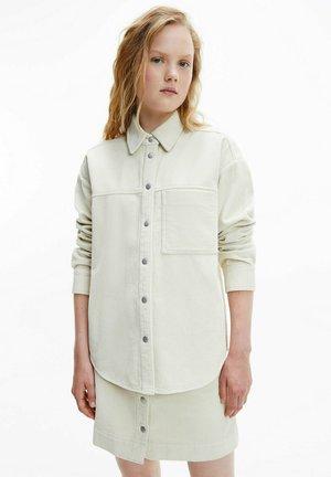 OVERSIZED CORDUROY  - Light jacket - muslin