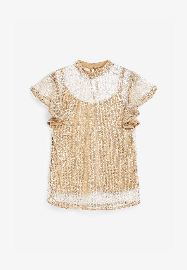 Camicetta - gold