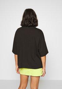Missguided Petite - DROP SHOULDER OVERSIZED 2 PACK - Basic T-shirt - black/white - 2