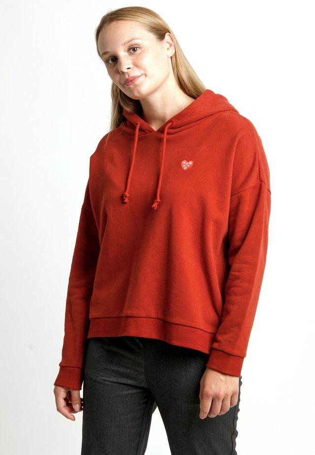 BERNA - Sweatshirt - red