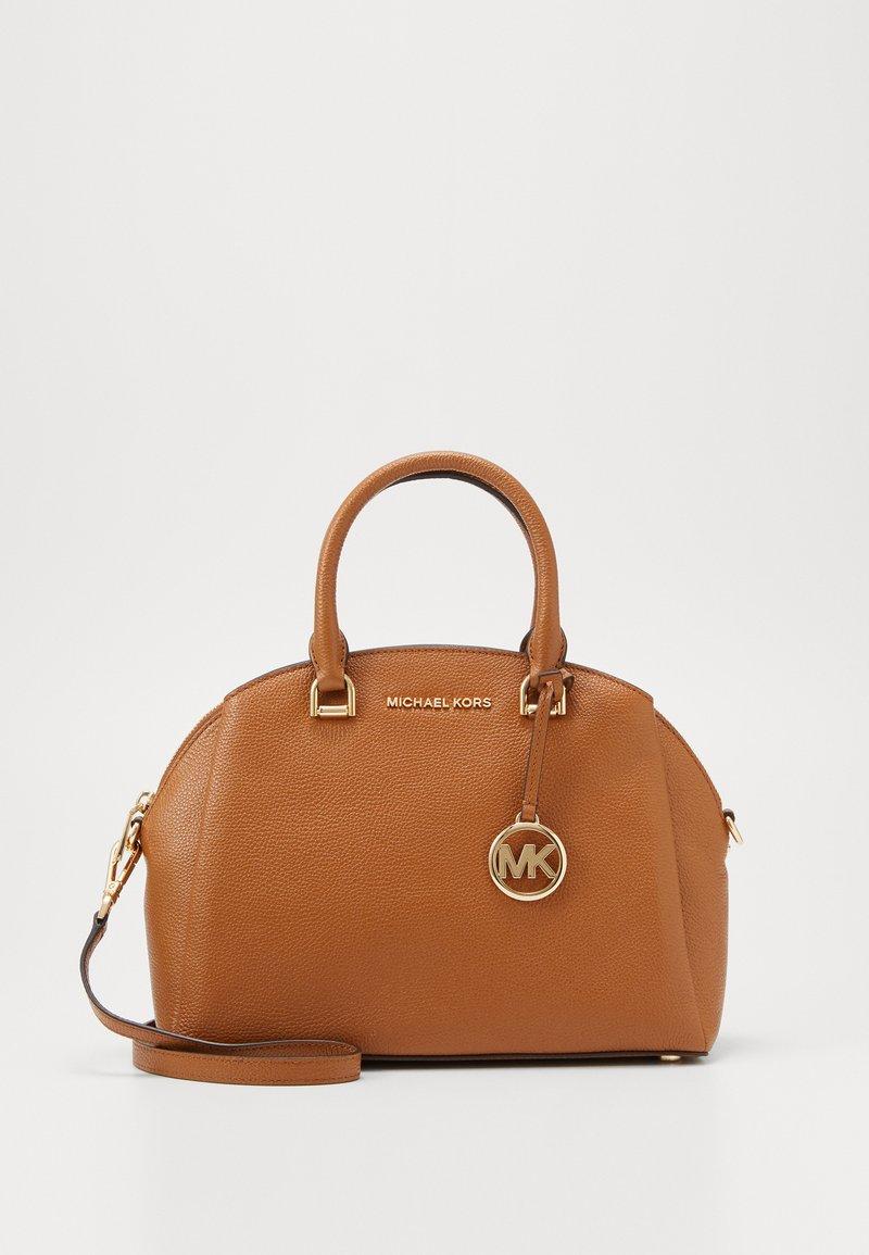 MICHAEL Michael Kors - MAXINE DOME SATCHEL - Handbag - acorn