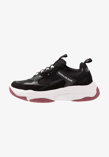 MAYA - Sneakers basse - black