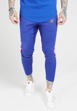 Tracksuit bottoms - blue neon