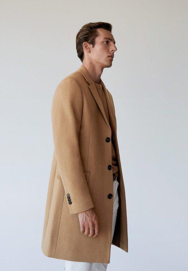Classic coat - middenbruin