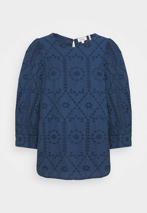 Long sleeved top - faded blue