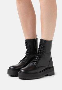 Zign - Platform ankle boots - black - 0