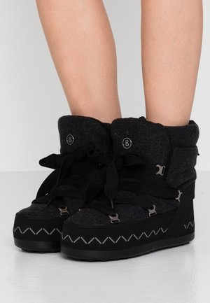 TROIS VALLEES  - Lace-up ankle boots - anthracite