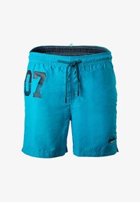 Superdry - WATERPOLO - Swimming shorts - hellblau - 0
