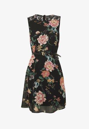 VMSUNILLA SHORT DRESS - Vestito estivo - black
