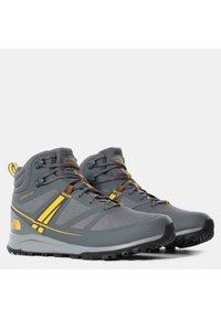 The North Face - M LITEWAVE MID FUTURELIGHT - High-top trainers - zinc grey/saffron - 1