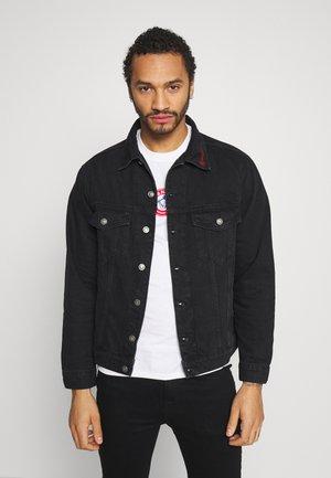 MENNACE SIGNATURE WESTERN - Denim jacket - black