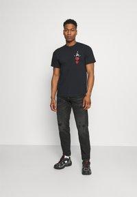 HUF - YEAR OF THE OX TEE - Print T-shirt - black - 1
