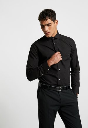 SOLID COLOUR - Formal shirt - black knight