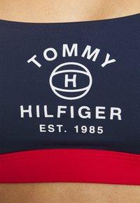 Tommy Hilfiger - ACTIVE BRALETTE - Bikini top - desert sky - 4