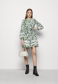 maje - ROMAN - Cocktail dress / Party dress - végétal écru vert - 1