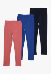 Friboo - SOLID 3 PACK  - Leggings - Trousers - desert rose/nautical blue - 0