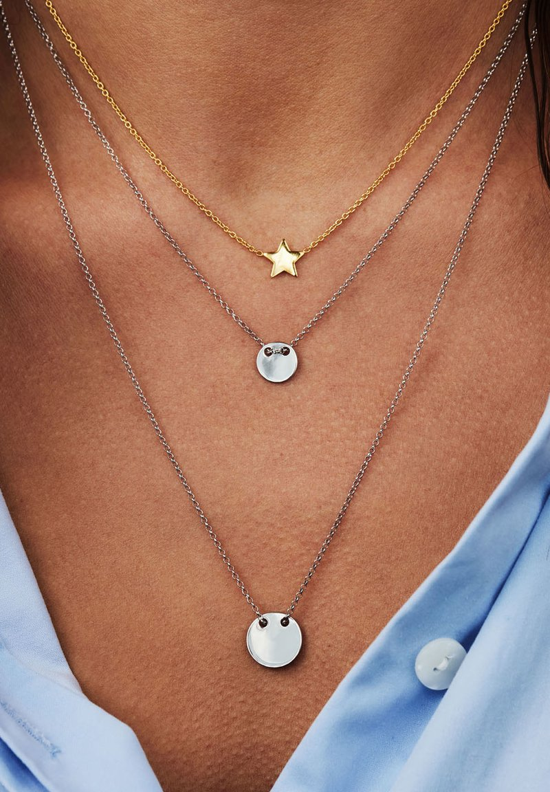 Selected Jewels - Necklace - silber